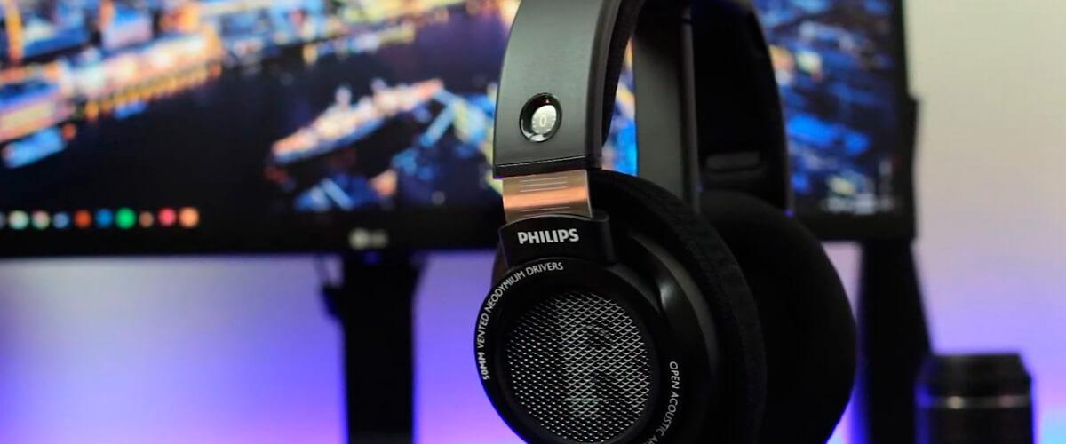 Philips open-back-headphones