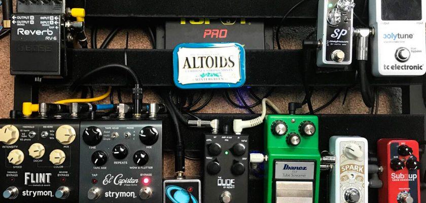 proper order of guitar pedals
