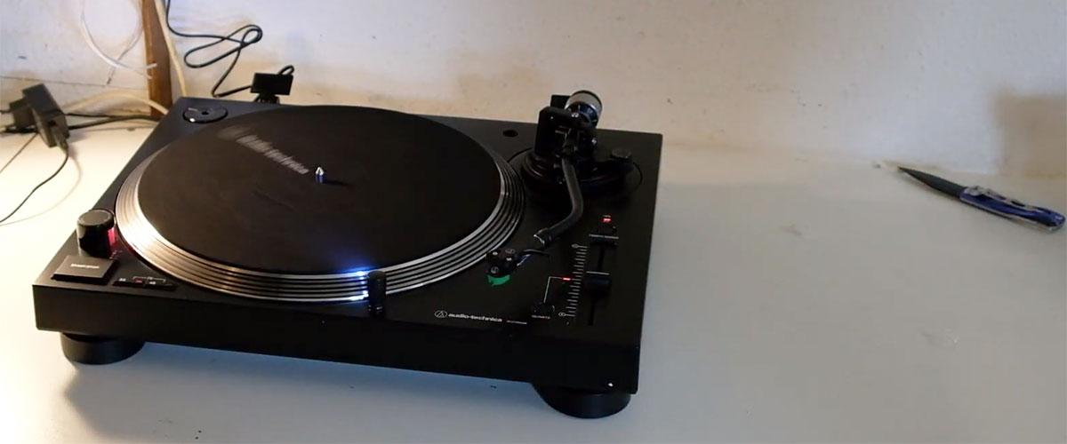 Audio-Technica AT-LP120XUSB-BK photo